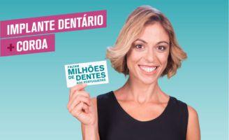 Implantes dentários: Tenha o seu sorriso de volta
