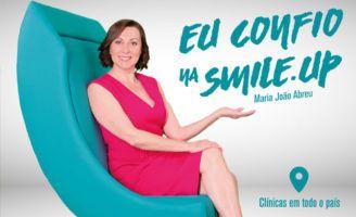 Smile.up lança campanha publicitária com a atriz Maria João Abreu