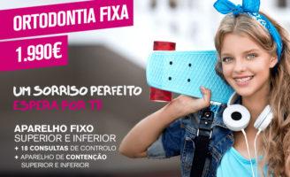 Campanha Smile.up: Ortodontia Fixa por 1.990€