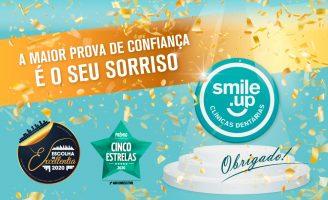 Smile.up é Cinco Estrelas e Escolha de Excellentia 2020