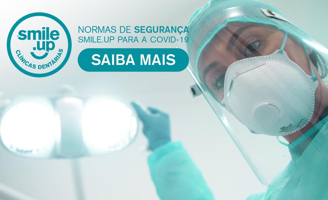 Normas de Segurança Smile.up para a COVID-19