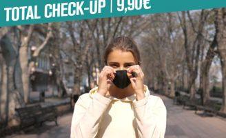 Total Check-up: sorria mesmo com máscara