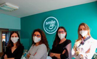 Smile.up oferece máscaras que inativam o coronavírus a colaboradores
