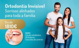 Aparelho dentário invisível permite sorrisos alinhados para toda a família