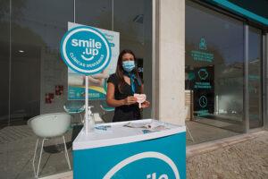 Inauguração da clínica dentária em Queluz