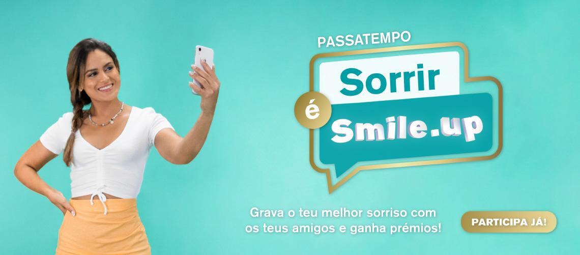 Passatempo - Sorrir é Smile.up
